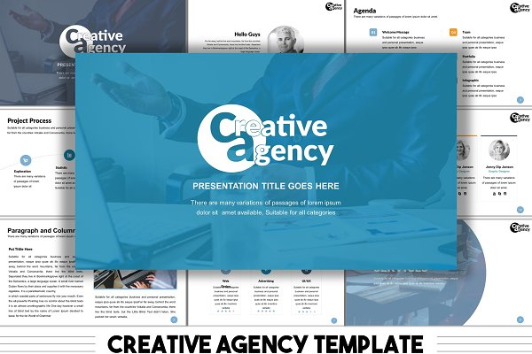 The Agency Pitch | Keynote Bundle ~ Presentation Templates