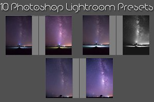 10 Milkyway Lightroom Presets