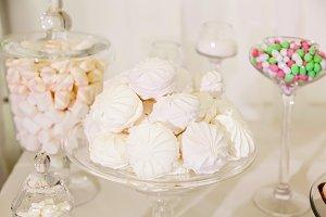 Sweet table at the wedding celebrati
