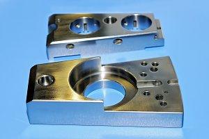 Industrial steel detail rectangular