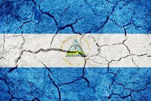 Republic of Nicaragua flag