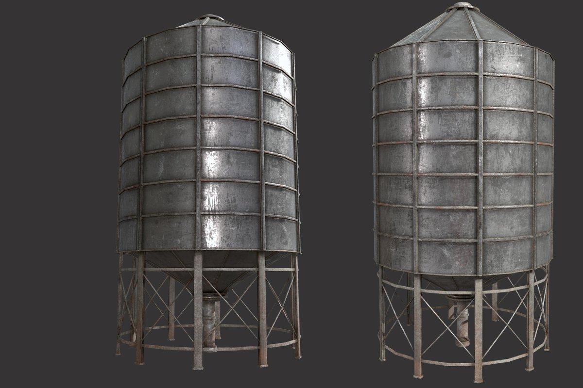 Farm Silo 6A PBR