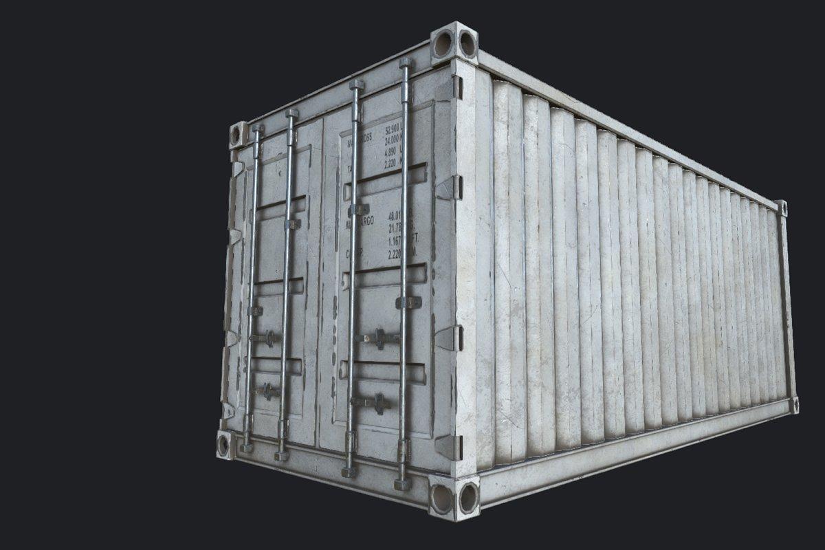 Cargo Container PBR