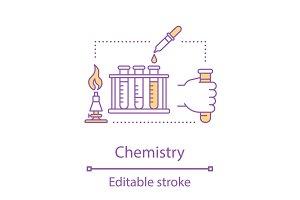 Chemistry concept icon