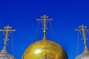 Domes of Russian Orthodox Church