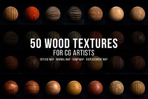 50 Seamless Wood Textures