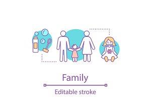 Family concept icon