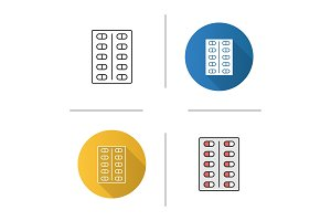 Pills blister icon