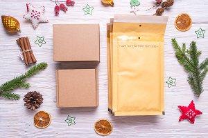 Postal packaging, bubble envelopes a
