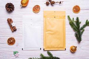 Postal packaging, bubble envelopes o