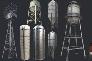 Industrial Structures PBR Collection