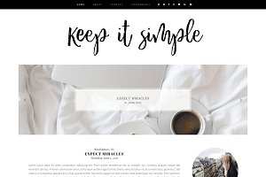 Keep it simple | Blogger template