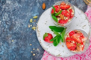 healthy breakfast Homemade  granola