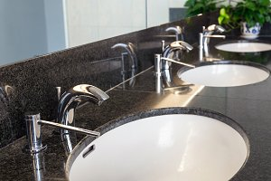 Luxury faucet with wash basin, Inter