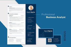 Editable CV for Business Analyst