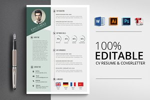 Professional Word CV Resume