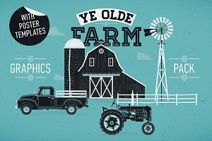 Old Farm Graphics Pack