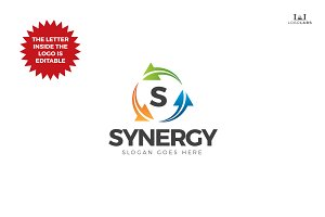 Synergy - Editable Letter Logo