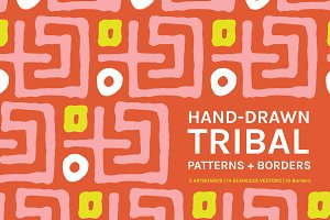 Abstract Tribal | Boards + Patterns