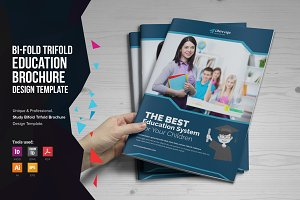 Education Bifold Trifold Brochure