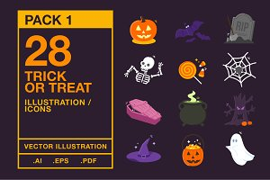 Halloween Icons #1