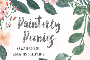 Garden Floral Clip Art Mega Pack