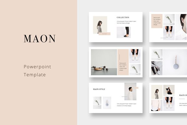Maon Powerpoint Template Psd Template All Psd Mockup