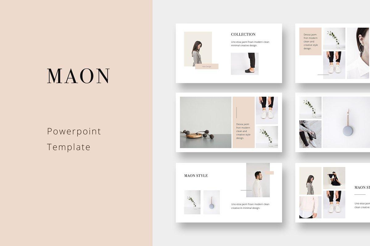 Maon Powerpoint Template Powerpoint Templates Creative