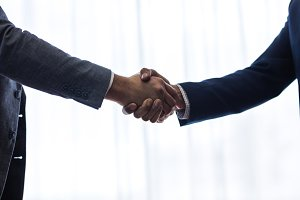 Successful business associates
