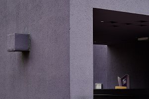 Modern Image of Purple Wall