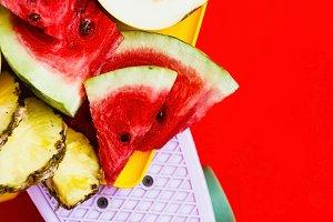 fruit slicing in the original filing