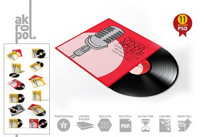 Vinyl Record Mock-Up