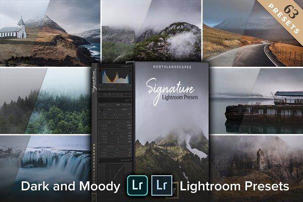 Moody Landscapes - Lightroom Preset…