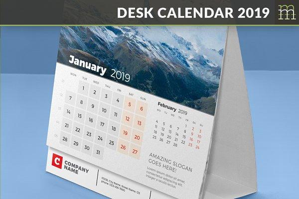 Desk Calendar 2019 (DC024-19)
