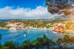 Assos village, Kefalonia. Greece