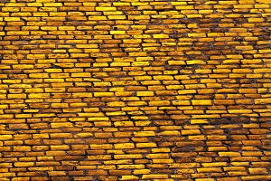 road is paved with golden bricks