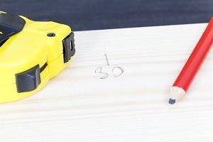 a construction ruler
