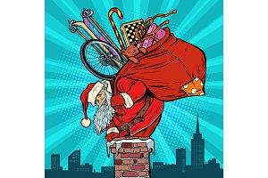 Activities and games. Santa Claus