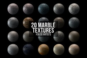 20 Marble Textures for CG Artists