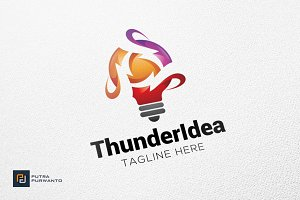 Thunder Idea - Logo Template