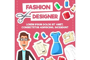 Fashion designer, tailor profession