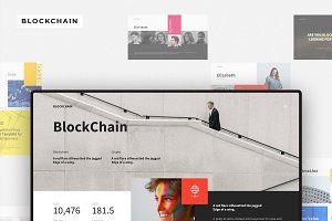 BLOCKCHAIN Google Slides Template