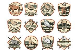 Hunting club, wild animals, ammo