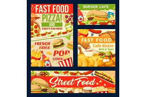 Fastfood restaurant and street food