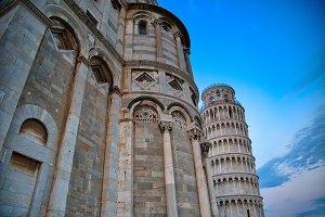Scenic view of Pisa tower