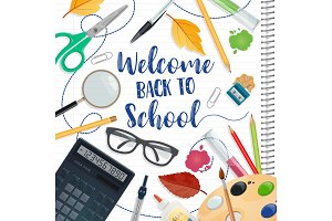 Back to school study season poster