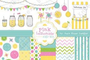 Pink Lemonade Graphic set