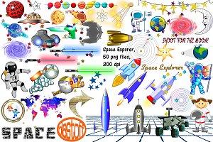 Space Explorers & Light Sabers