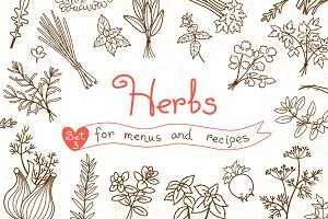 Herbs - Design Set
