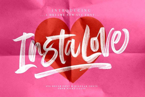 InstaLove SVG Font